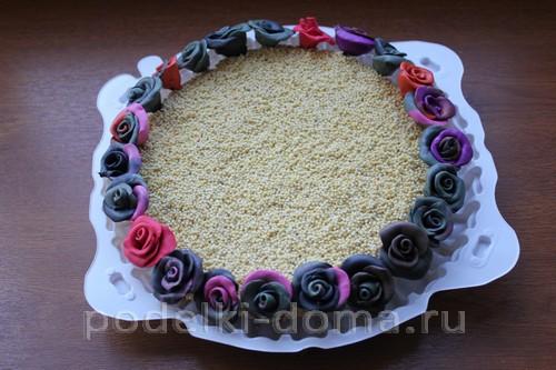 novoodniy tort podelka solenoe testo17