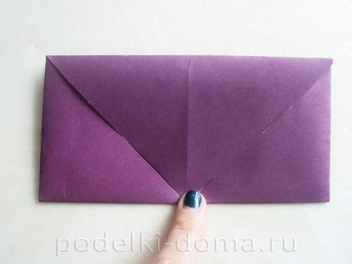 бумажная подставка под яйцо заяц 03