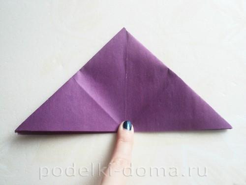 бумажная подставка под яйцо заяц 04