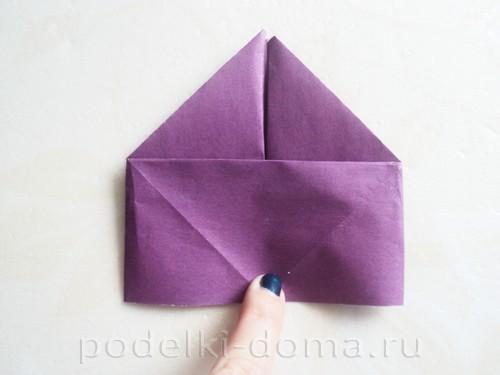 бумажная подставка под яйцо заяц 07