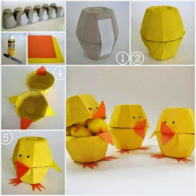 Поделки из яичных лотков своими руками для детей