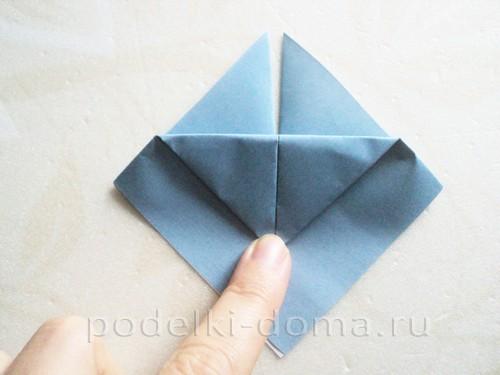подставка для яйца кролик из бумаги 03