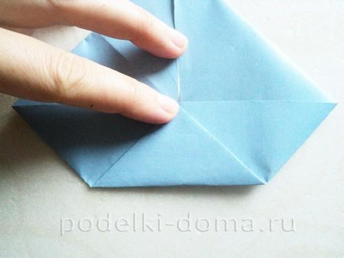 подставка для яйца кролик из бумаги 09
