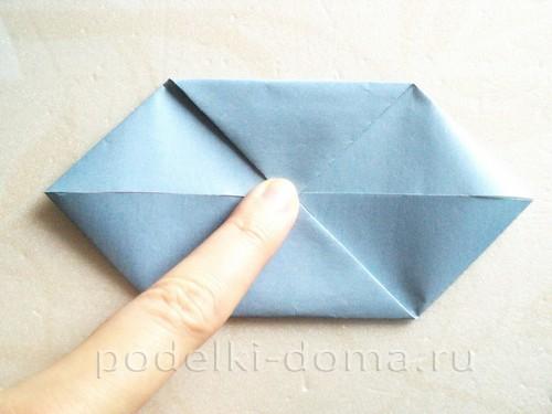 подставка для яйца кролик из бумаги 10