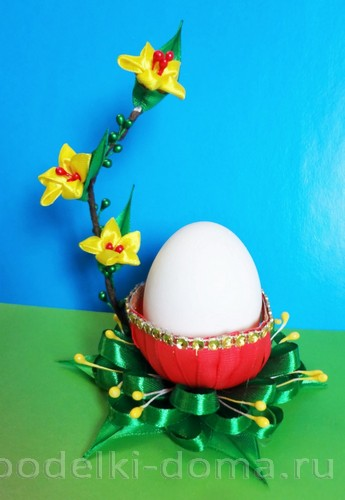 подставка для яйца канзаши
