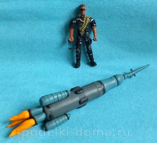 ракета из пластилина13