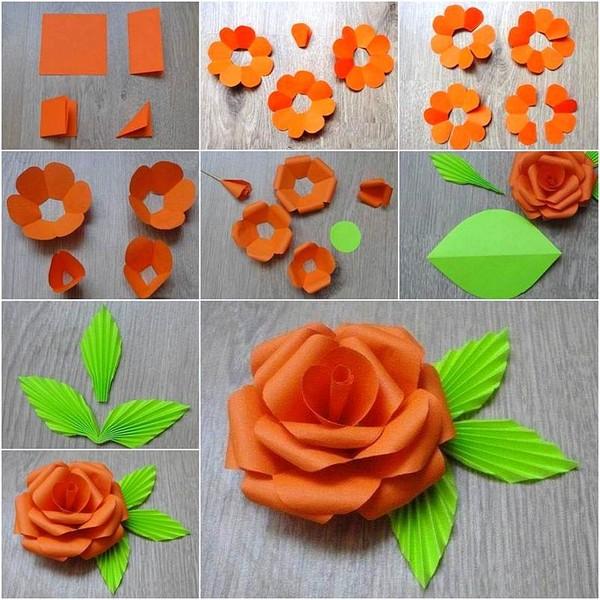 роза из бумаги2