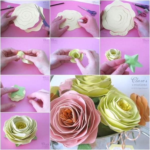 розы из спирали