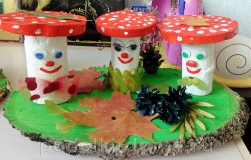 осенние грибы 2