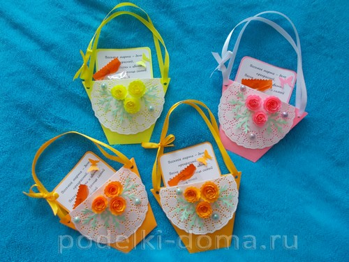 Timofeeva-Ulyana бумажная открытка-сумочка