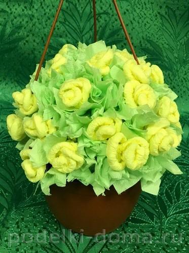 корзинка с цветами