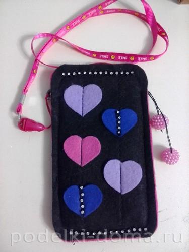 сумочка для телефона