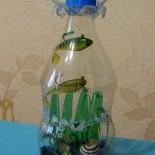 Аквариум из пластиковой бутылки