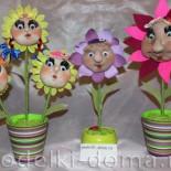 Мастер класс «Цветочки из капрона» – подарок на День матери