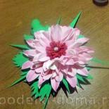 Цветок из фоамирана