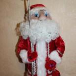 Кукла «Дед Мороз» в технике скульптурный текстиль