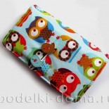 Как сшить кошелек из ткани (детский)
