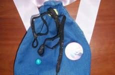 Детский рюкзак и мешок для сменки из джинсов своими руками