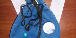 Детский рюкзак из джинсов своими руками