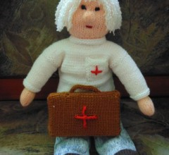 Доктор Айболит (мастер-класс по вязанию куклы)