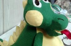 Мягкая игрушка Дракоша
