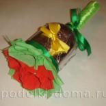 Колокольчик с конфетами – подарок учителю на 1 сентября
