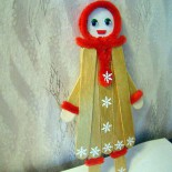 Куклы из шпателей