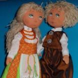 Похвастушки Ольги Арисеп: куклы, кролики, Снупи и шапочки с пинетками