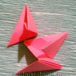 Как сделать треугольный модуль для оригами