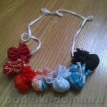 Подвеска из узелков (народная игрушка)
