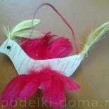 Птичка из бересты