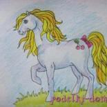 Как нарисовать лошадку