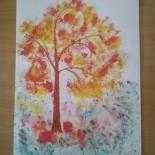 """Мастер-класс по изобразительной деятельности """"Осеннее дерево"""""""