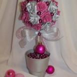 Топиарий «Новогодние розы»