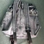 Рюкзак из старых джинсов