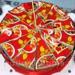 Торт с пожеланиями из бумаги (своими руками)