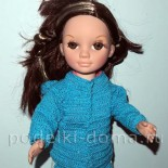 Вязаная кофточка для куклы (крючком)
