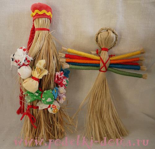 Моя коллекция народных кукол