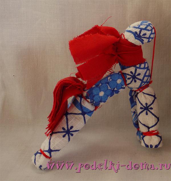 Солнечный конь тряпичный