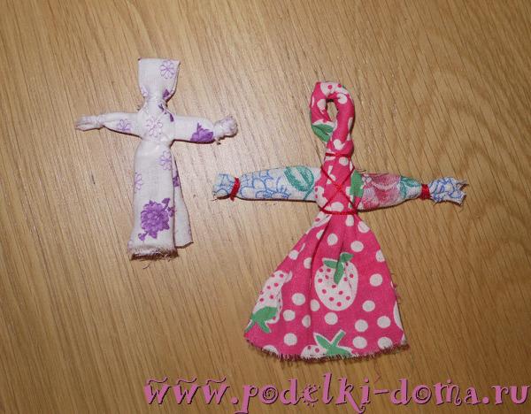 Куклы Кувадки - мастер-класс