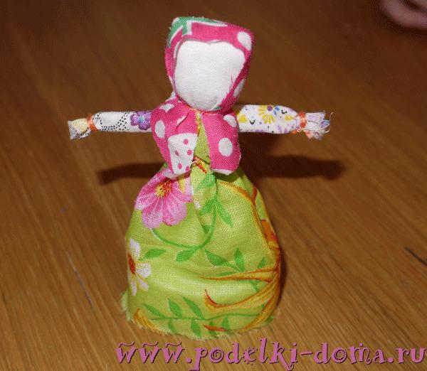 Кукла-веснянка - мастер-класс