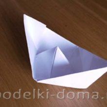 Кораблики из бумаги и подручного материала
