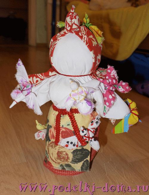 Народная кукла Птица-Радость