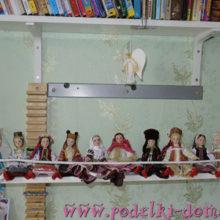 Полка-качели для кукол