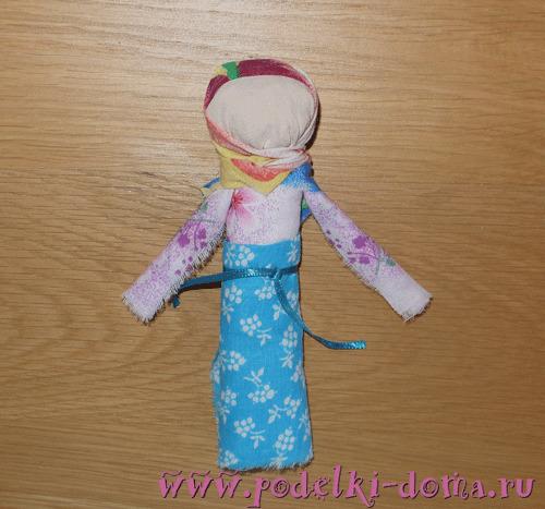 народная кукла скрутка