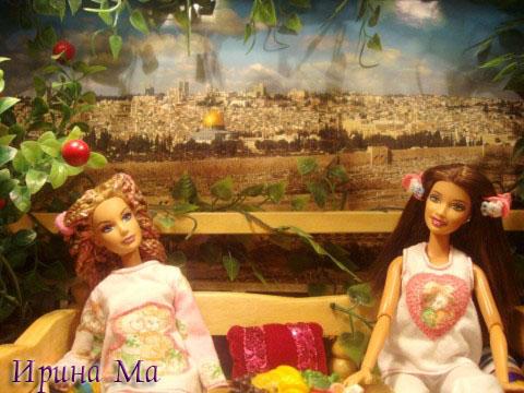 поделки для кукол: беседка в восточном стиле
