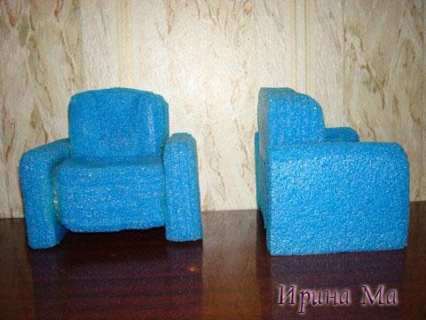 кукольная мебель - кресла