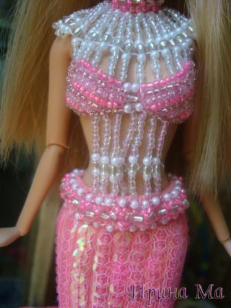платье русалки