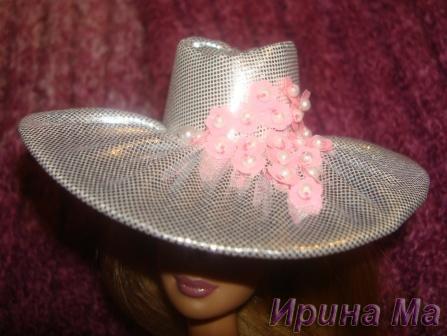 шляпа для куклы
