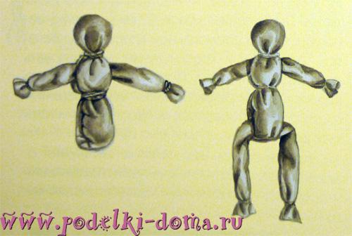 кукла Козьма и Демьян